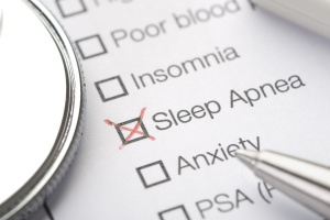 Checklist of sleep disorders
